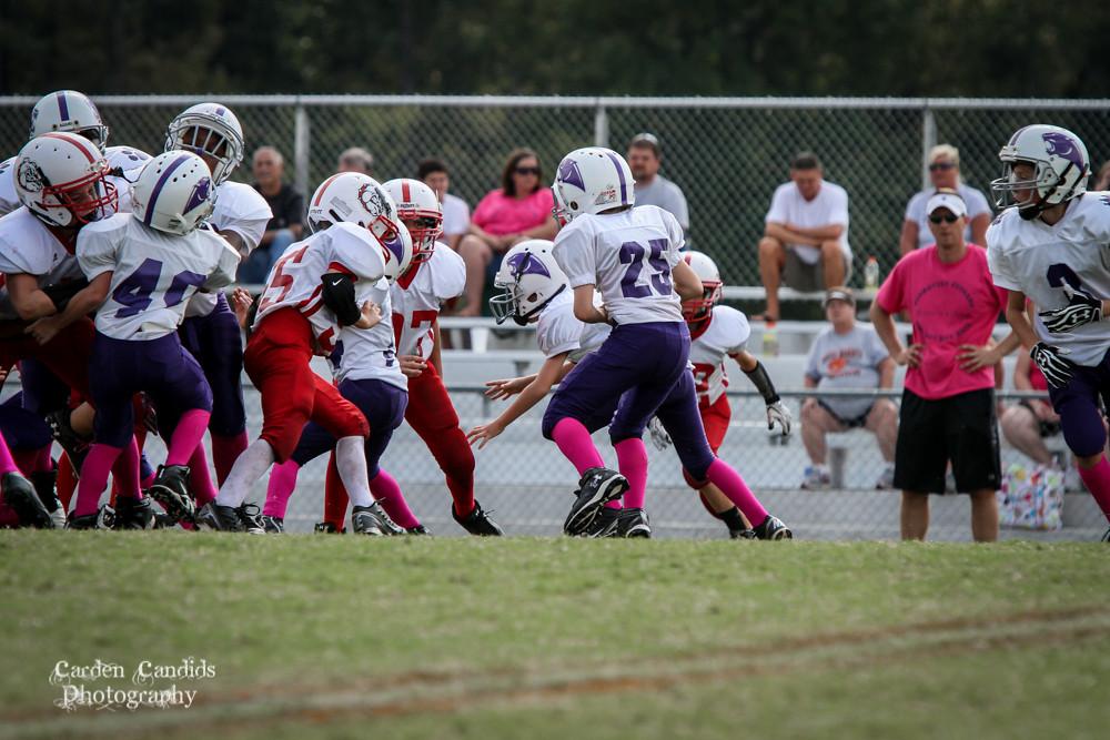 Cougars JV vs Bulldogs JV 10-6-022