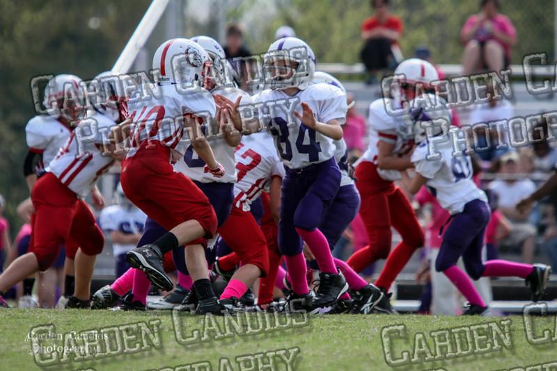 Cougars JV vs Bulldogs JV 10-6-016