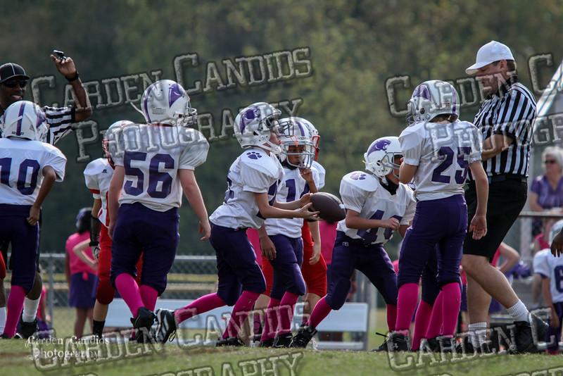 Cougars JV vs Bulldogs JV 10-6-017