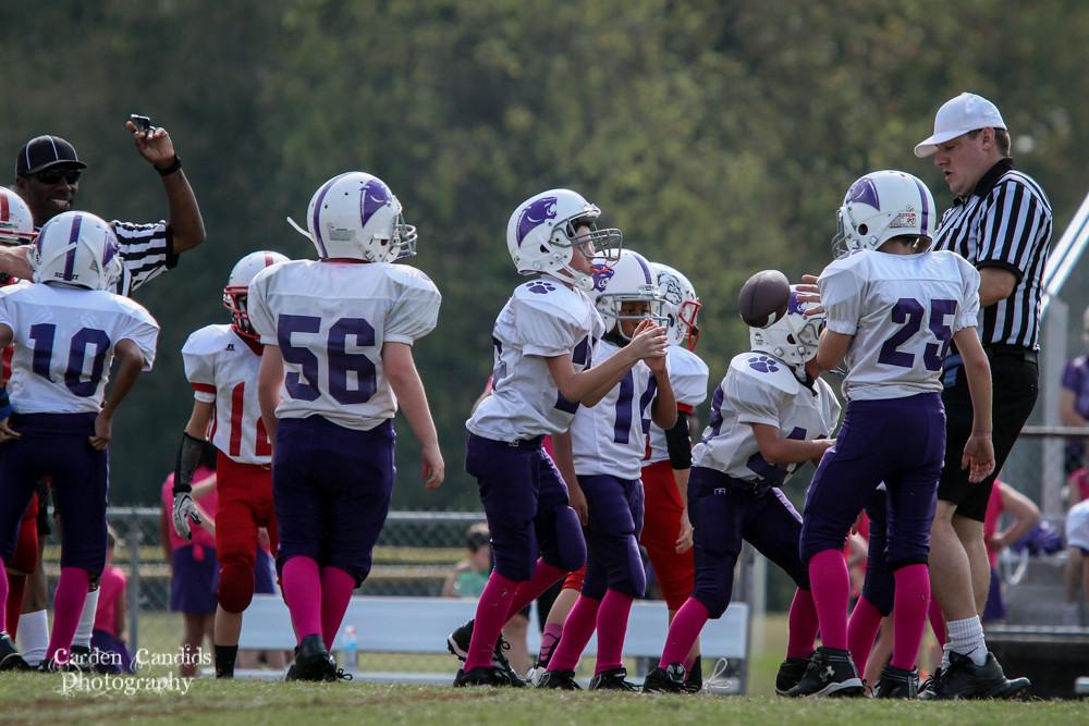 Cougars JV vs Bulldogs JV 10-6-018