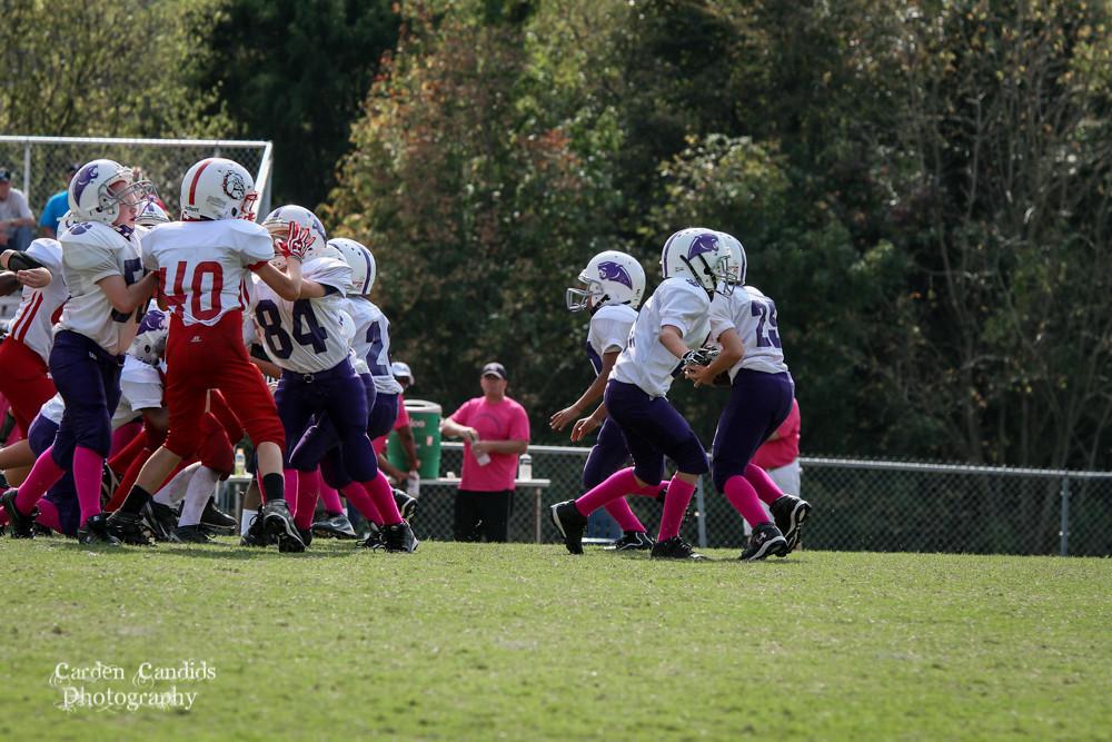 Cougars JV vs Bulldogs JV 10-6-014