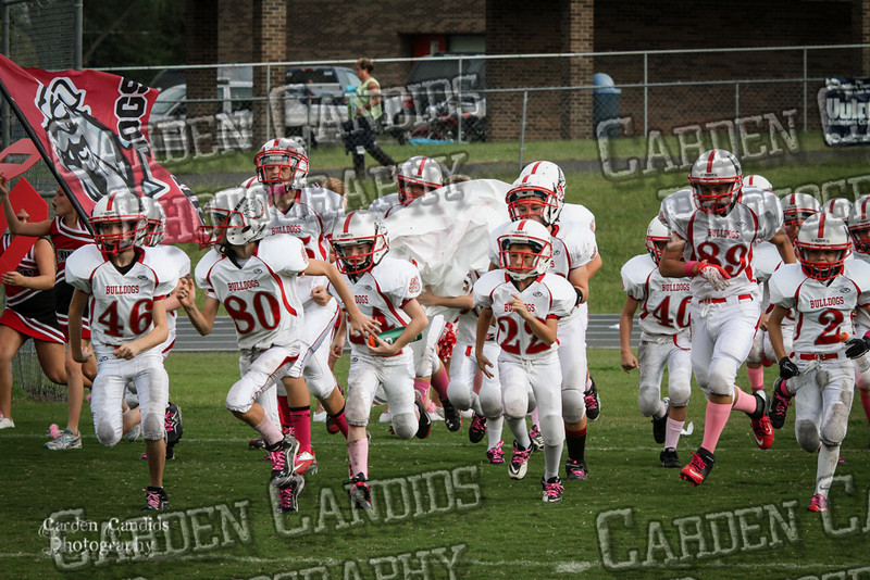 Cougars Var vs Bulldogs Var 10-6-010