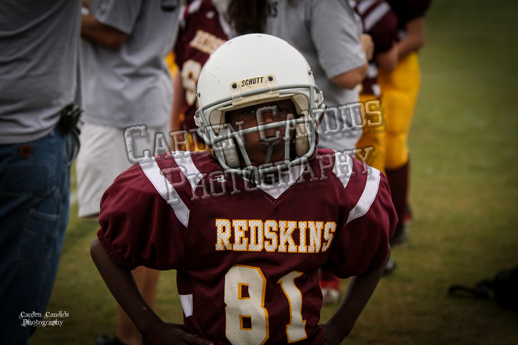 Rams JV vs Redskins JV 9-29-16