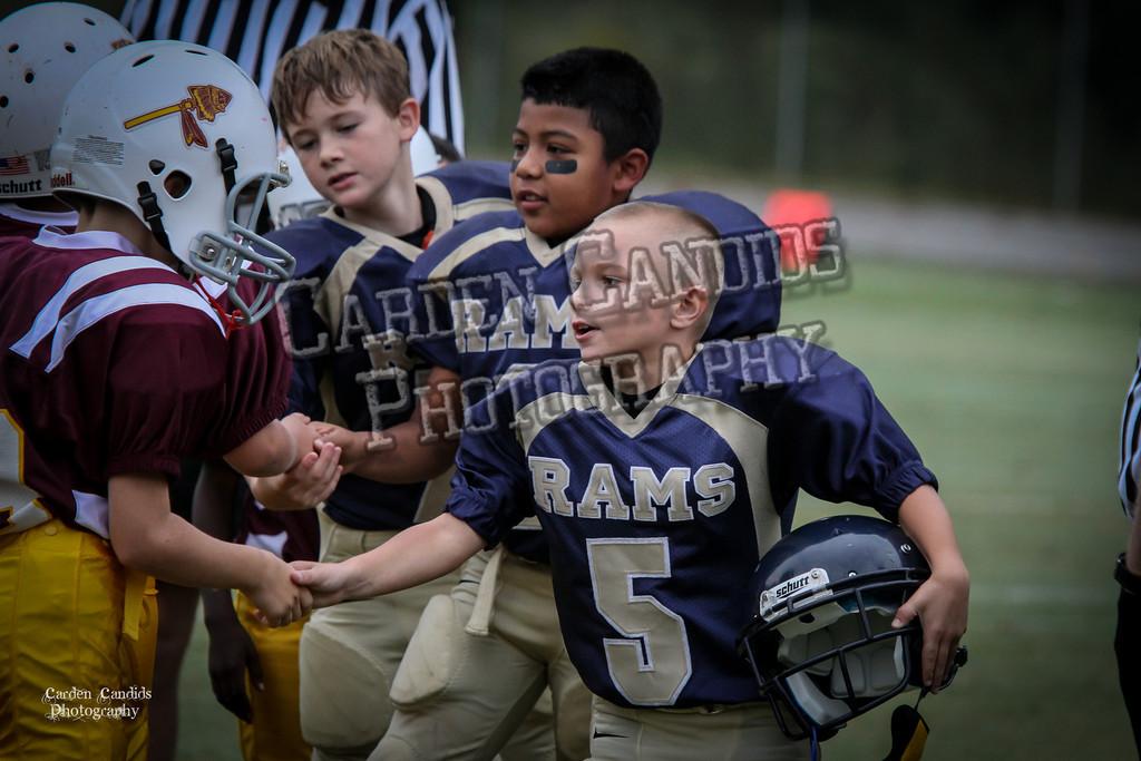 Rams JV vs Redskins JV 9-29-5