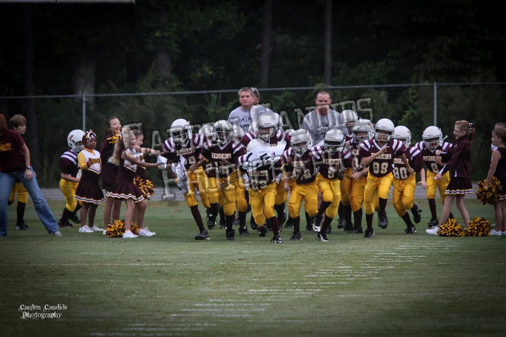 Rams JV vs Redskins JV 9-29-12