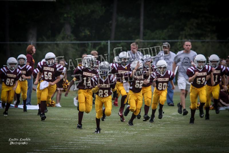 Rams JV vs Redskins JV 9-29-13