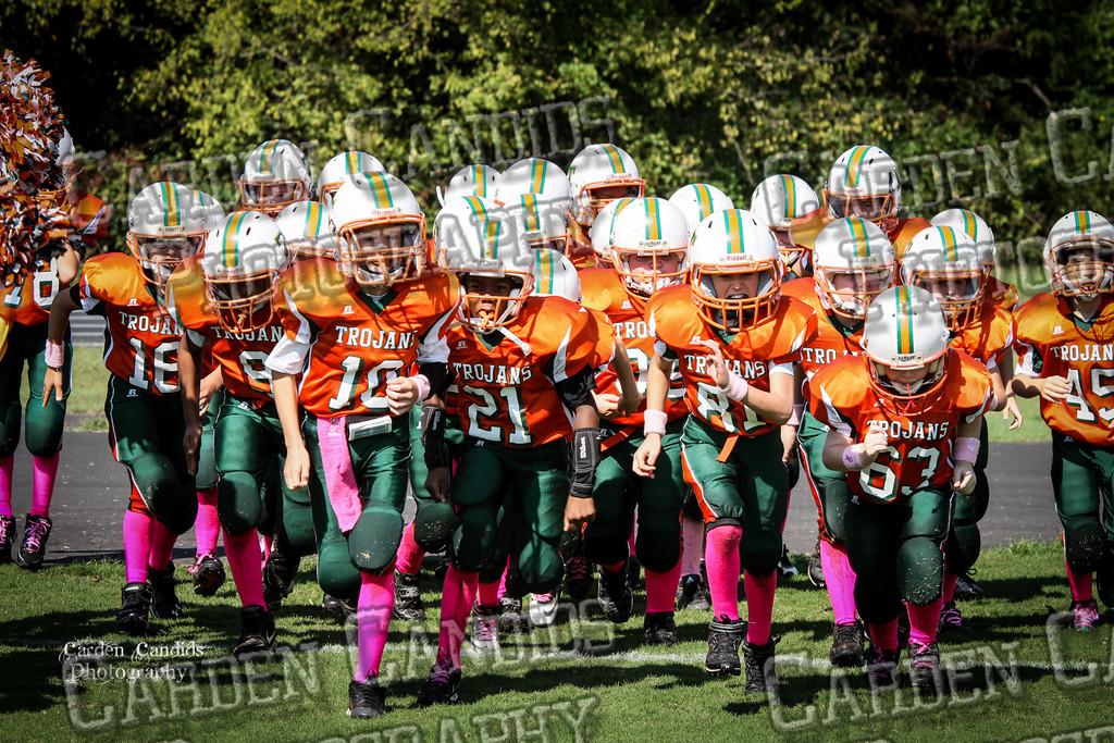Rams JV vs Trojans JV 10-6-011