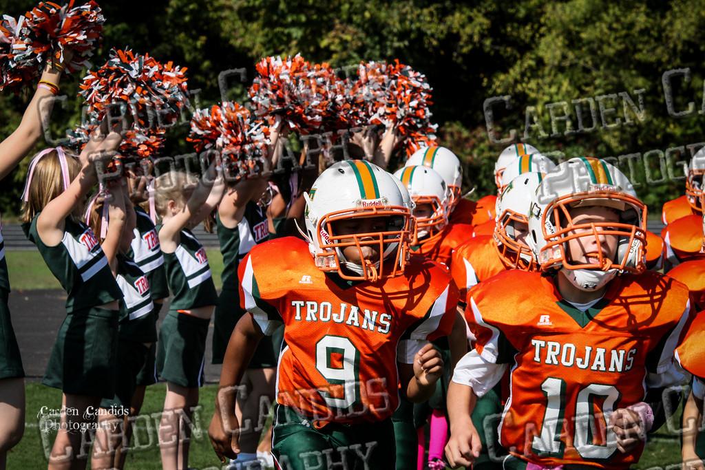 Rams JV vs Trojans JV 10-6-014