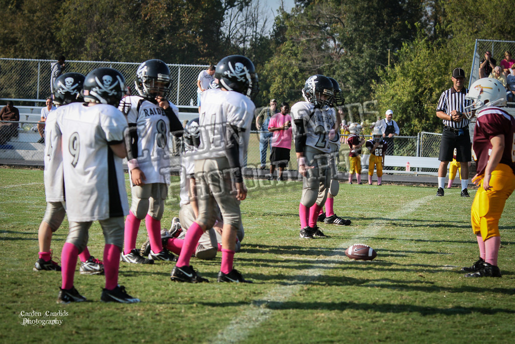 Redskins JV vs Raiders JV 10-6-018