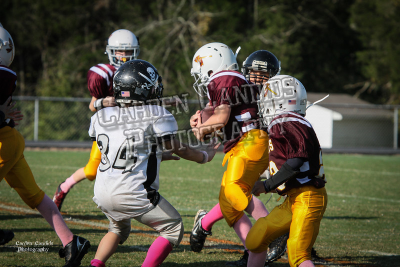 Redskins JV vs Raiders JV 10-6-012