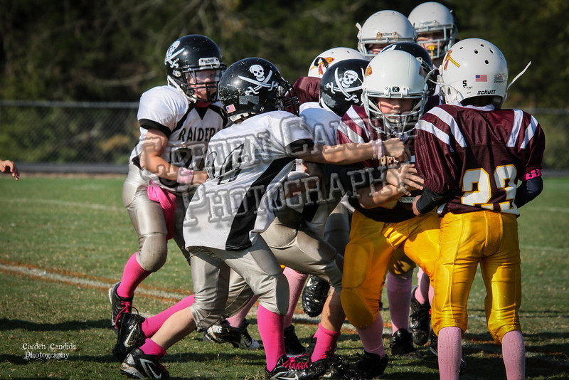 Redskins JV vs Raiders JV 10-6-013