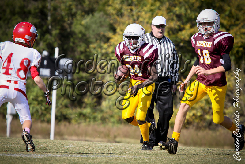 Shady-Cooleemee Varsity Playoffs -41