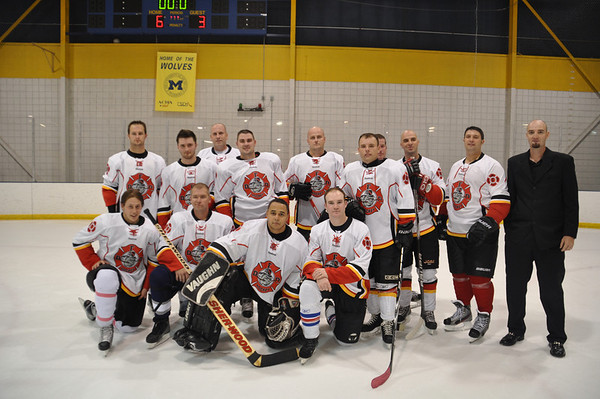 DFD Hockey VS Dearborn Education Foundation Teachers Charity Hockey Game