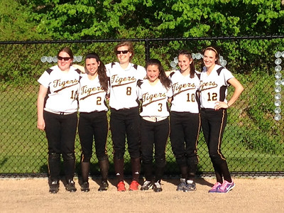 DHHS Softball Senior Day 2014