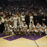 Vanden Vikings Vs Mater Dei Monarchs at the Girls Basketball State Championships at Golden 1 Center in Sacramento,Saturday,