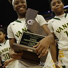 Vanden Vikings Vs Mater Dei Monarchs at the Girls Basketball State Championships at Golden 1 Center in Sacramento,Saturday,