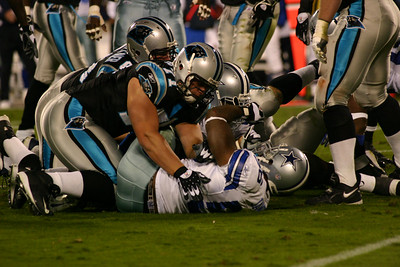 Dallas Cowboys at Carolina Panthers 10-29-06