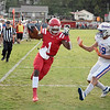 Matt Hamilton/Daily Citizen-News<br /> NW19 can't stop D1 from scoring a TD.