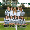2019 FGR Varsity Dance Team 8x10