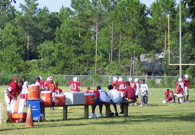 The practice field at Bay.  Full of Fireants!!!
