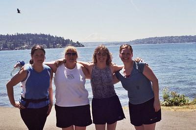Sara, Jean WIlma and Andrea