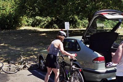 Wilma and bike