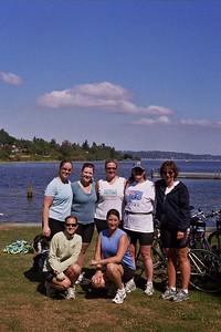 GROUP SHOT - Kristin, Andrea, Susie, Joan, Terri Karin and Sara