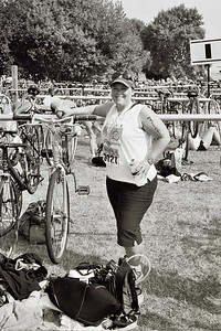 Mel in the transition area