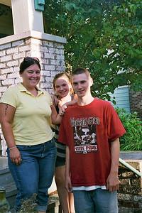 Steph and Jackson and Melani