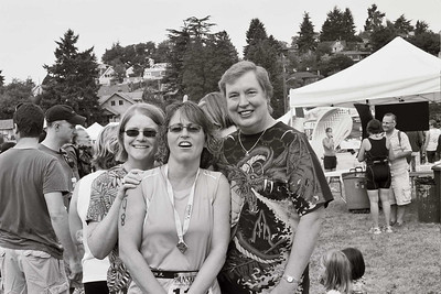Eileen, Wilma and Pam