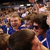 DAVID LE/Staff photo. 3/14/15. Danvers Falcons fans.