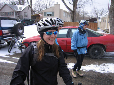 "Real smile -- ""I'm looking forward to this ride"""