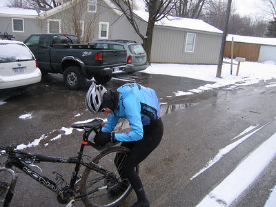 Erin models the new winter ride look