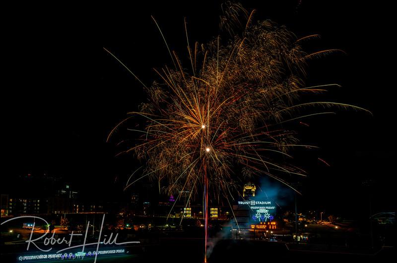 Winston-Salem Dash Fireworks