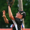 6-25-14<br /> Hollingsworth Lumber vs. Martin Brothers<br /> Martin Brothers' Alex Kirk catches the ball for an out.<br /> Kelly Lafferty | Kokomo Tribune