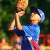 6-26-14<br /> Kasey Championship<br /> Hollingsworth's Nathaniel Liddell makes a catch for an out.<br /> Kelly Lafferty | Kokomo Tribune