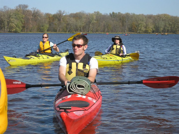 weekend camping, canoe, & kayak trip down the Wisconsin River to the Mississippi -
