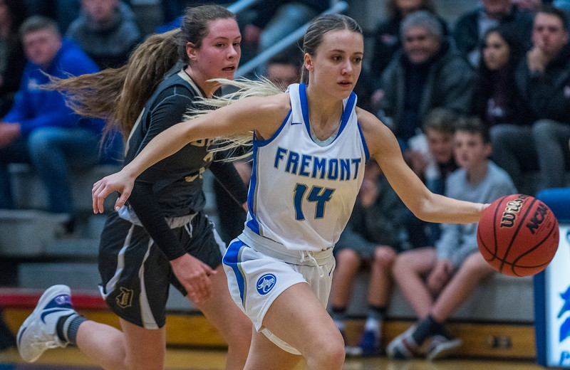 Fremont girls dominate Davis during the girls prep basketball game. In Plain City, on Friday January 3, 2020.