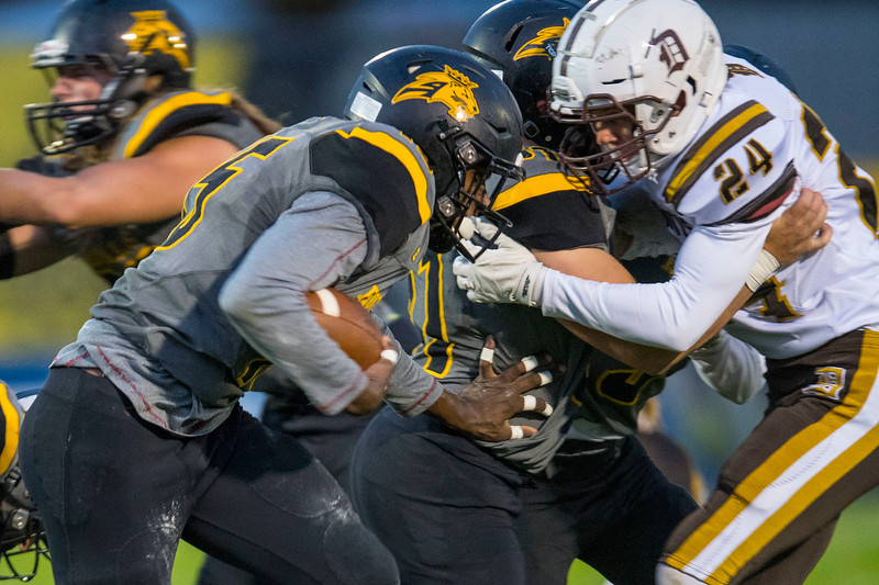 Davis takes on Roy High School during the prep football game. In Roy on Friday September 20, 2019.