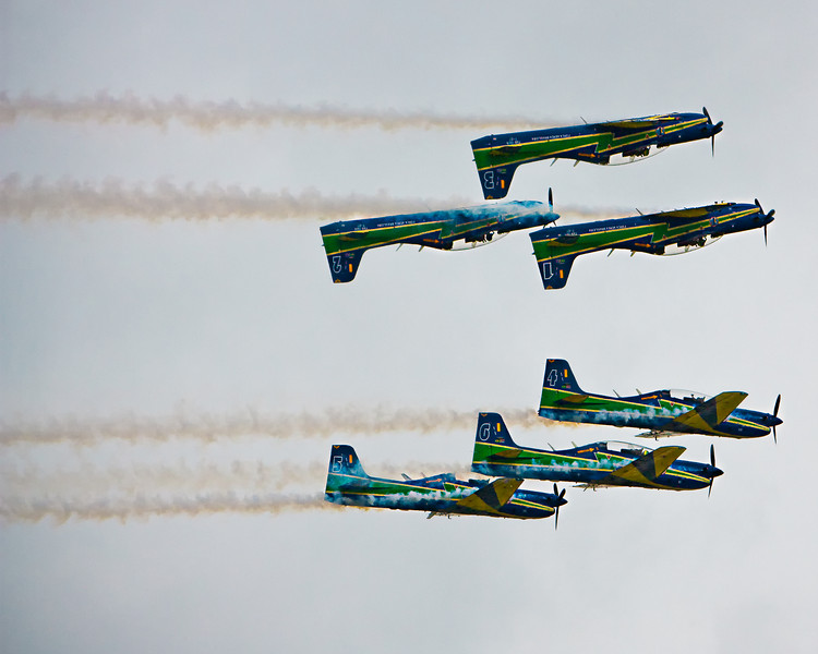 Brazilian Air Force Smoke Squadron