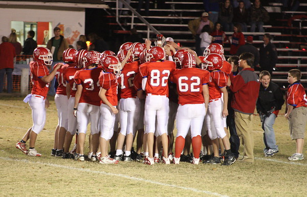 PLAYOFF GAME #1-DHS-V-TUNICA  WON 34-14