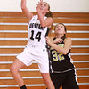12-18-13<br /> Western vs Lebanon girls basketball<br /> Western's Jessica Givens gets past Lebanon's Kallee Rice to the basket.<br /> KT photo | Kelly Lafferty