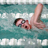 12-11-13<br /> Kokomo HS swimming<br /> Josh Church in the 50 Yard Freestyle<br /> KT photo   Kelly Lafferty