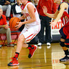 12-21-13   ---  Taylor HS vs Cass HS girls basketball  --- Taylor's Cami Hansen driving in for a shot in the 3rd.<br />   KT photo | Tim Bath
