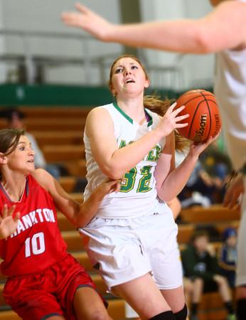 12-2-14<br /> Eastern girls basketball<br /> Taylor Holliday tries to get to the basket.<br /> Kelly Lafferty Gerber | Kokomo Tribune