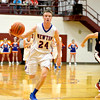 Newton's Joe Stone keys a fast break against Beecher City/Cowden-Herrick at the Dieterich Holiday Tournament.