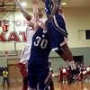 12-4-12<br /> IUK basketball<br /> IUK's Reomey Northington goes for shot against Brescia's defense on Tuesday night.<br /> KT photo   Kelly Lafferty