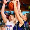 12-14-12<br /> Northwestern HS vs Maconaqua HS Boys Basketball<br /> Maconaqua's DJ Wilson and NW's Blake Oakley fight for a rebound on a NW shot in the 2nd quarter.<br /> KT photo | Tim Bath