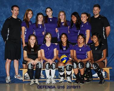 Defensa U16 Up Dated Team Photos