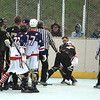 Tempers fly between Americans Ethan LaFosse and Saints Luke Jones